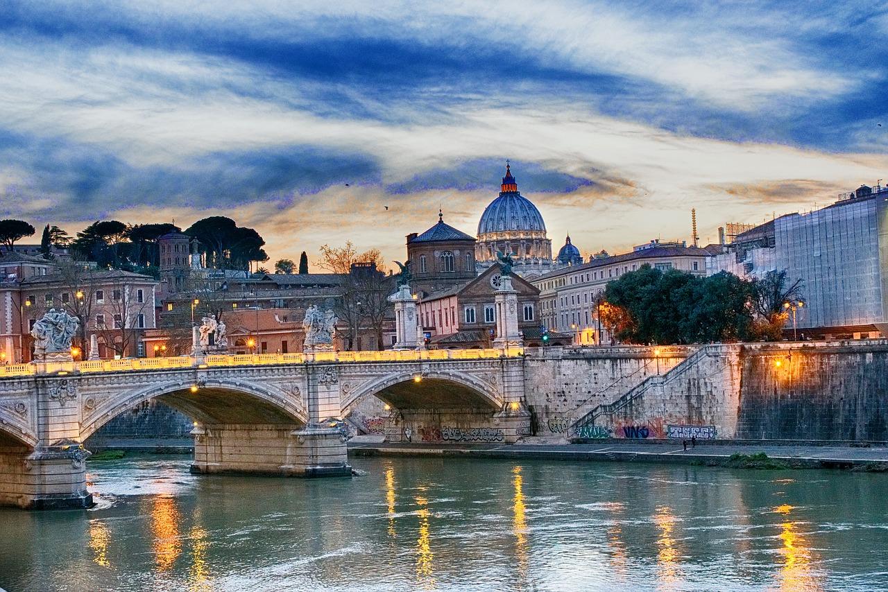 Rome Pont St Ange