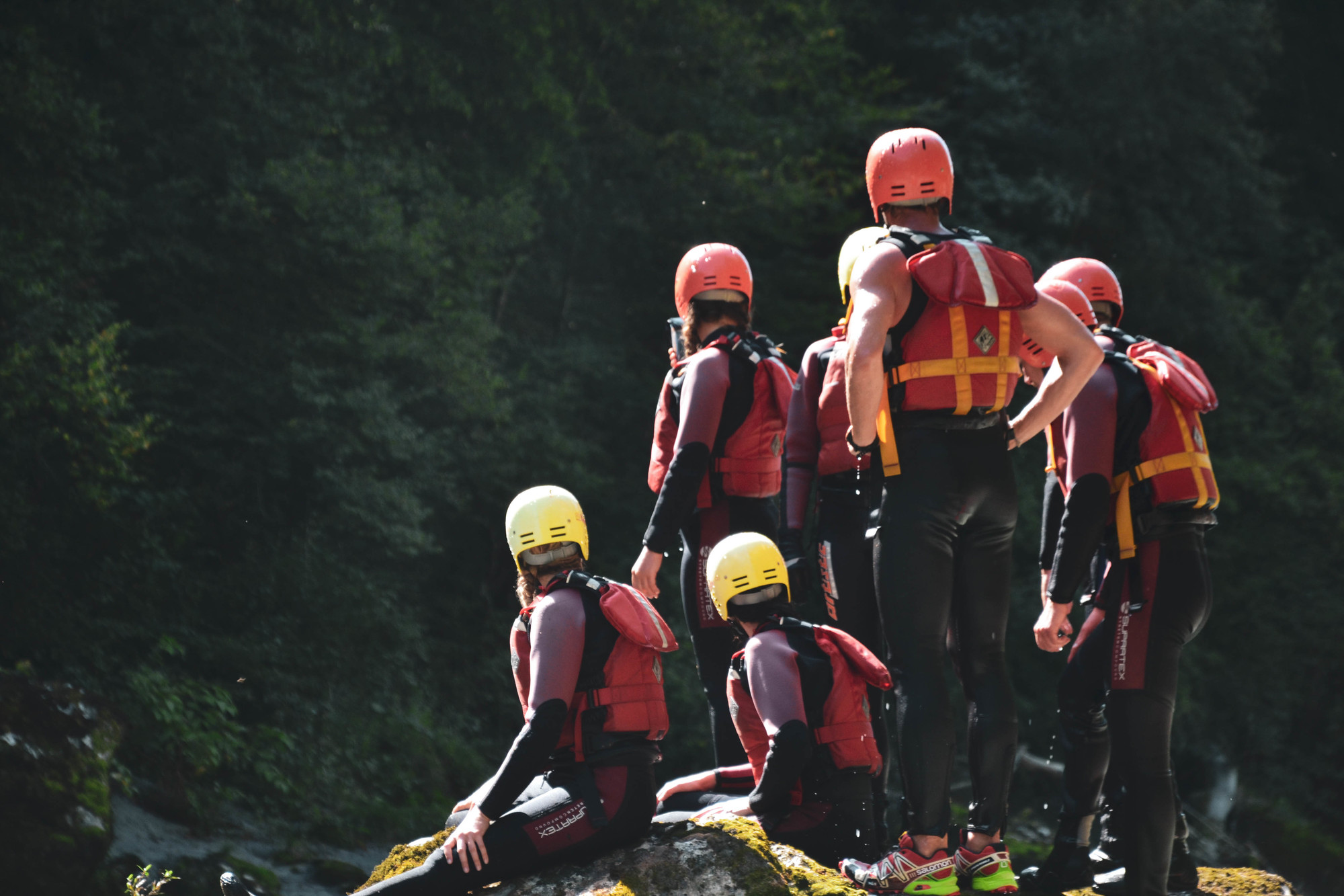 Alpes rafting Explora project