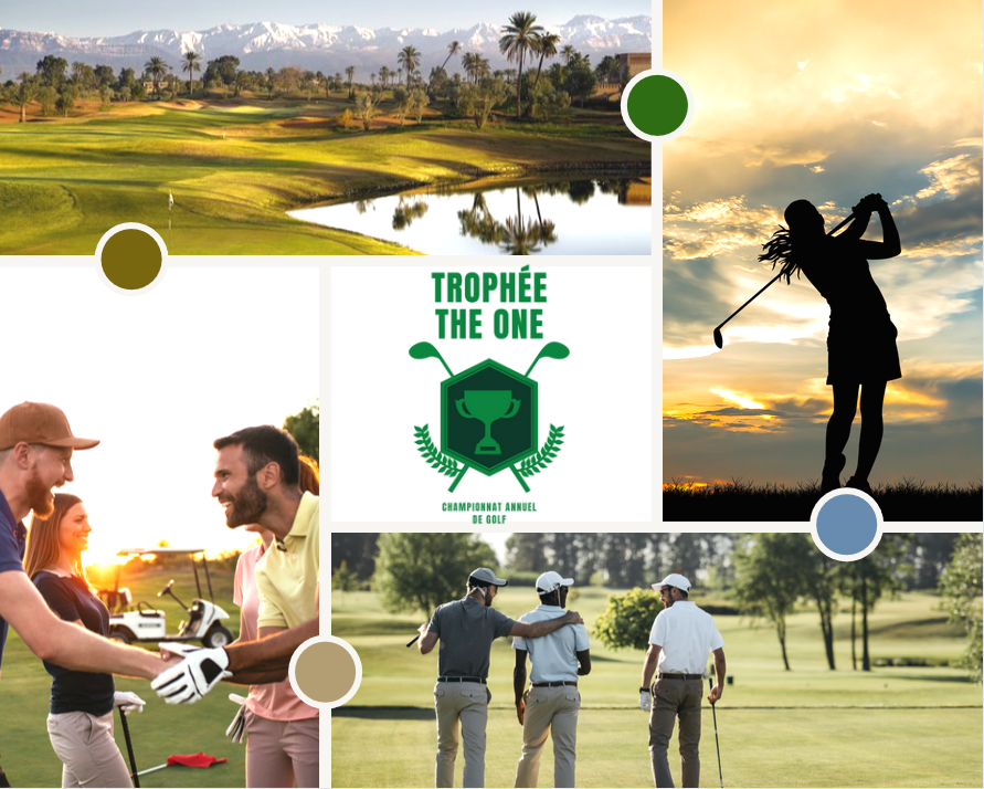 Golf trophe board