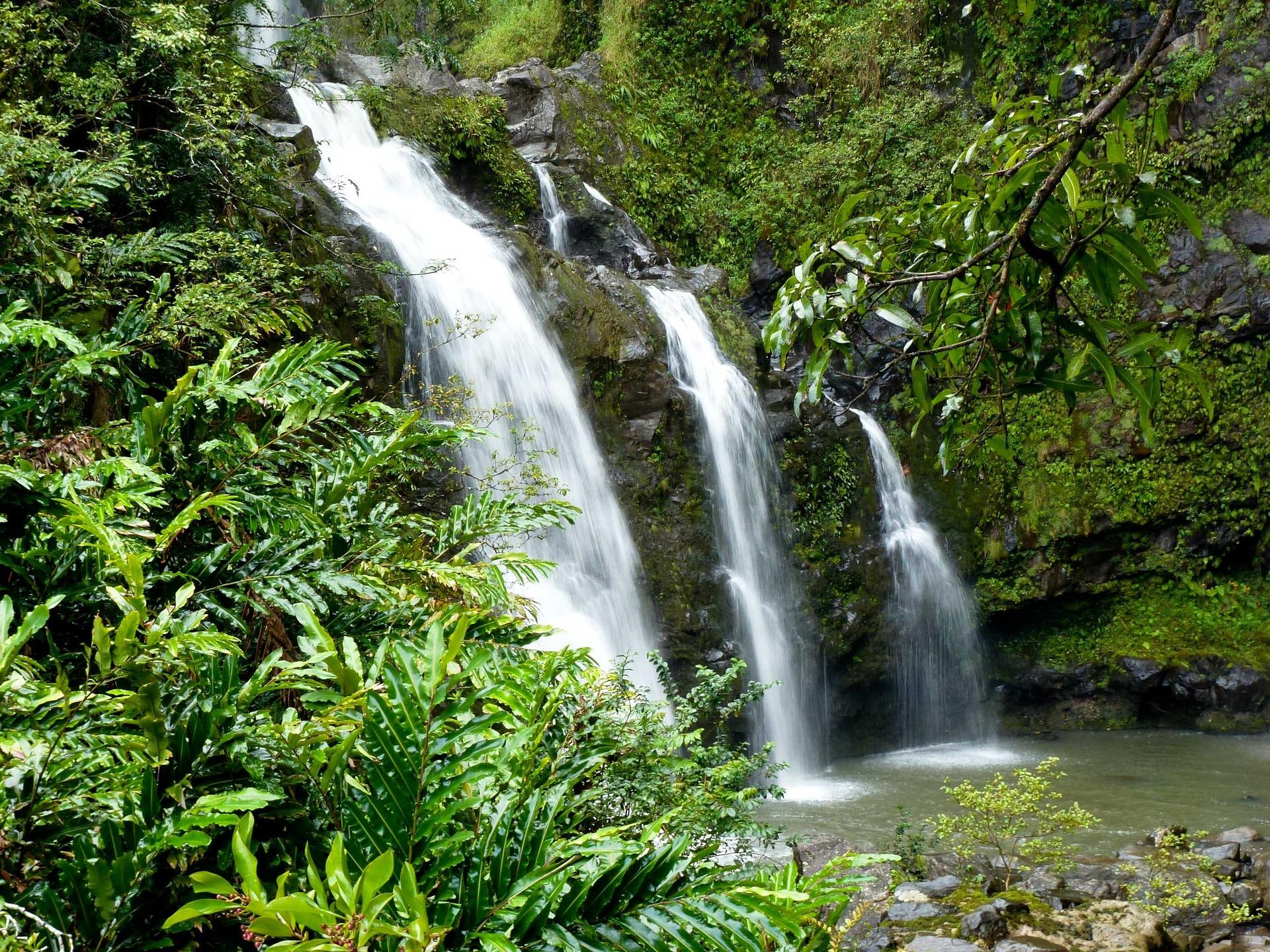 Hawaii cascades